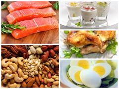 Содержащие белок продукты