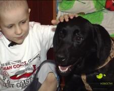 Мальчик победил рак ради собаки