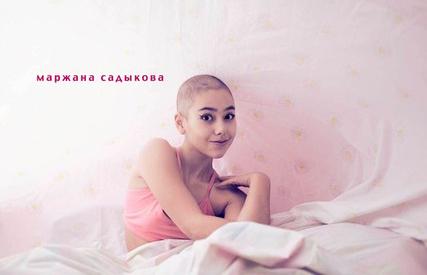 14-летняя онкобольная Маржана Садыкова организовала фотовыставку